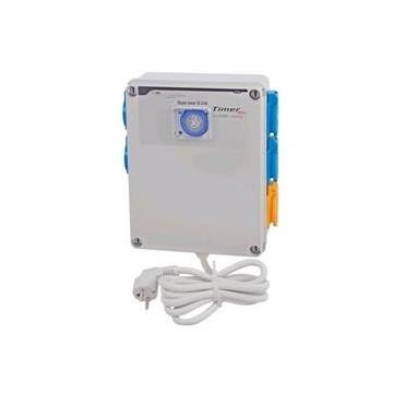Timer Box 4x600 W + Riscaldamento