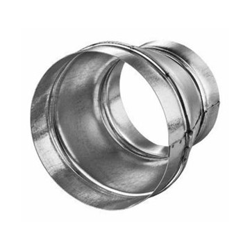 Riduzione 125mm - 100mm in acciaio zincato - Vents