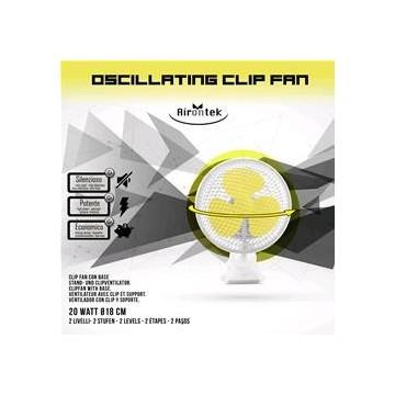 Clip Fan Oscillante Airontek diam. 15 cm
