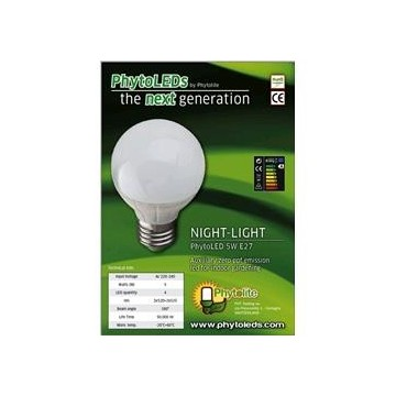 Luce verde LED Phytolite Night light 5 W