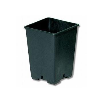 Vaso Quadrato da 6,2 L 17,5x17,5x25 in plastica