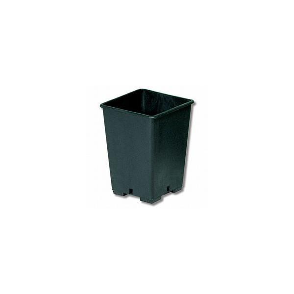 Vaso Quadrato In Plastica 23x23x26 Da 11 L