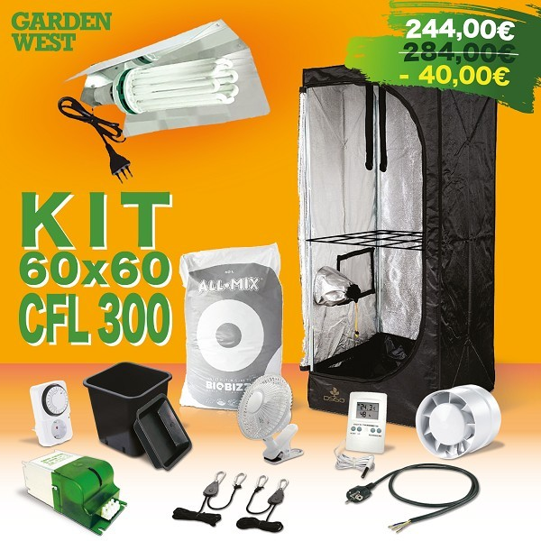 Kit Grow Box Completa 60x60x150
