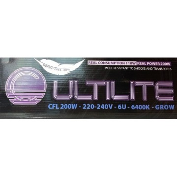CFL Grow 150 w Cultilite Black Series (consumo reale 95 w)
