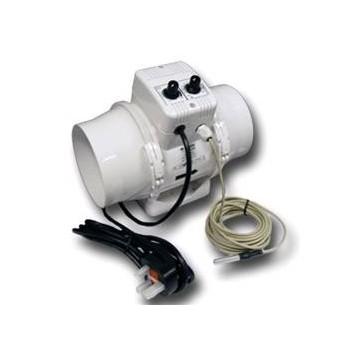 Vents Aspiratore TTUN DIAM. 100 Cablato + Termostato + Controllo Velocità 187 MC/H