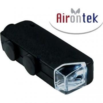 Microscopio 60x - 100x con LED Airontek