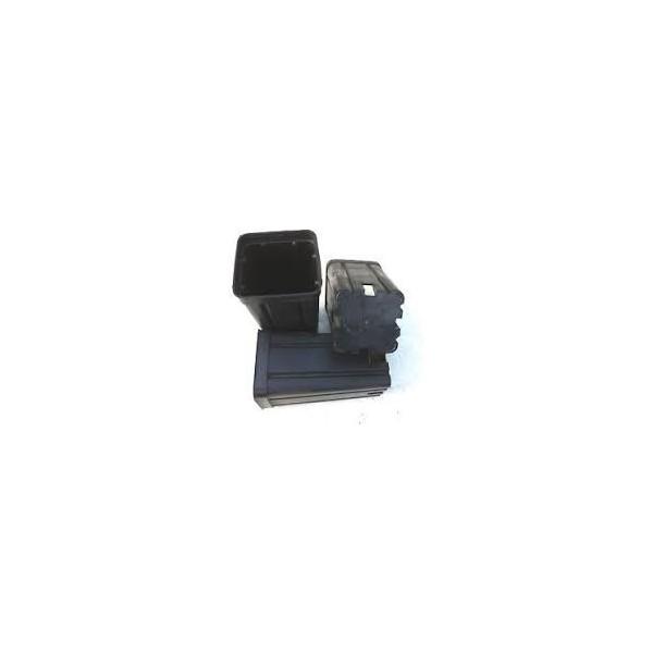 Vaso Quadrato Nero 10x10x17 da 1,4 L
