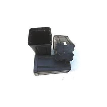 Vaso Quadrato Nero 15x15x20 da 3,6 L
