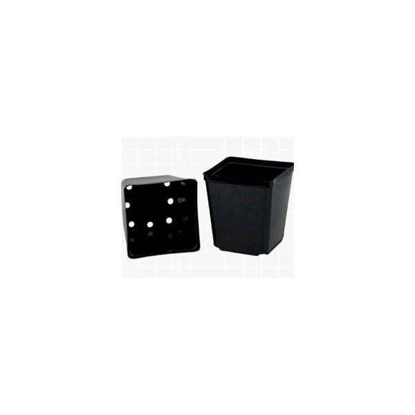 Vaso Quadrato In Plastica 7x7x8 Da 0,35 L